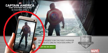 The HTC One is a movie star - HTC One to star in Captain America movie
