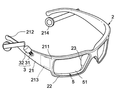 Sony's head-mounted device