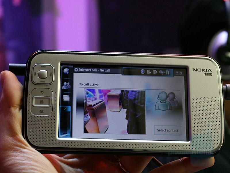 Nokia N800 Internet Tablet - CES 2007: Live Report