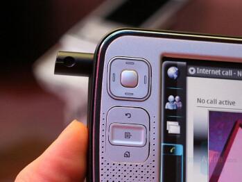 Swiveling Web Camera - Nokia N800 Internet Tablet