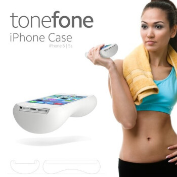 Need to work out? Can't let go of your iPhone? Try the world's heaviest iPhone case, ToneFone