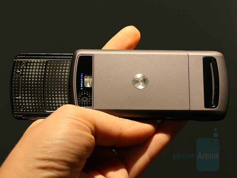 Motorola MOTORIZR Z6 - CES 2007: Live Report