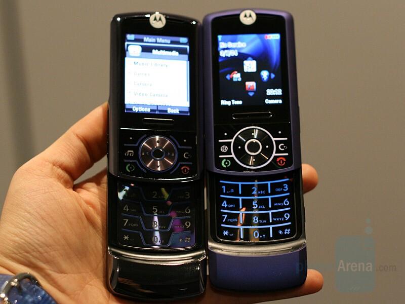 Z6 compared to Z3  - Motorola MOTORIZR Z6 - CES 2007: Live Report