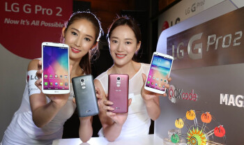 LG G Pro 2 is cheaper than Samsung Galaxy S5 in Asia