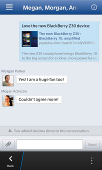 BlackBerry updates its Facebook app for BB10 with News-feed sorting, Emoji support, and more