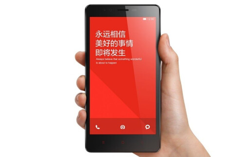 Xiaomi Redmi Note official images