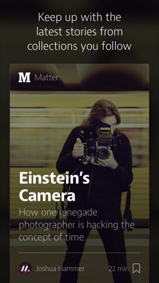 Medium reader app for iPhone now available