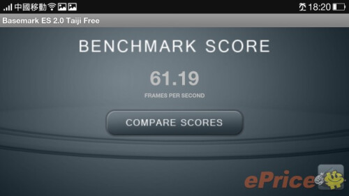 Oppo Find 7a benchmark score