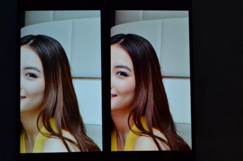 Oppo Find 7 - left, Oppo 7a-right