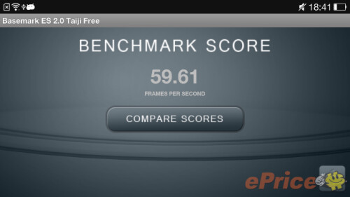 Oppo Find 7 benchmark score