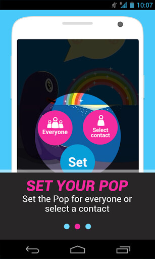 Pops makes notifications cool, swaps boring ringtones for GIFs and videos