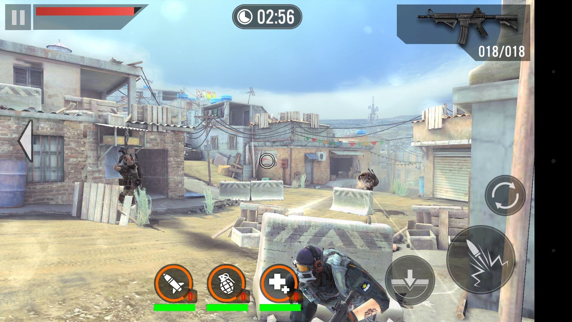 Frontline Commando 2 game review: intense third-person shooter with