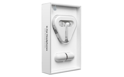 Apple in-ear headphones with remote and microphone