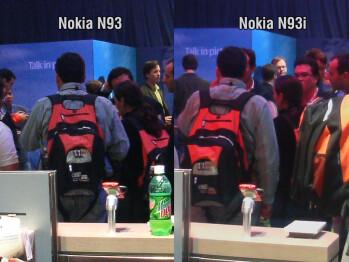 Nokia N93i vs N93 camera performance