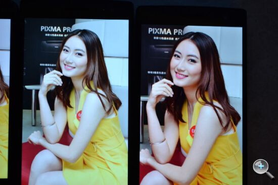 Oppo Find 7 (left) vs Find 7a (right)