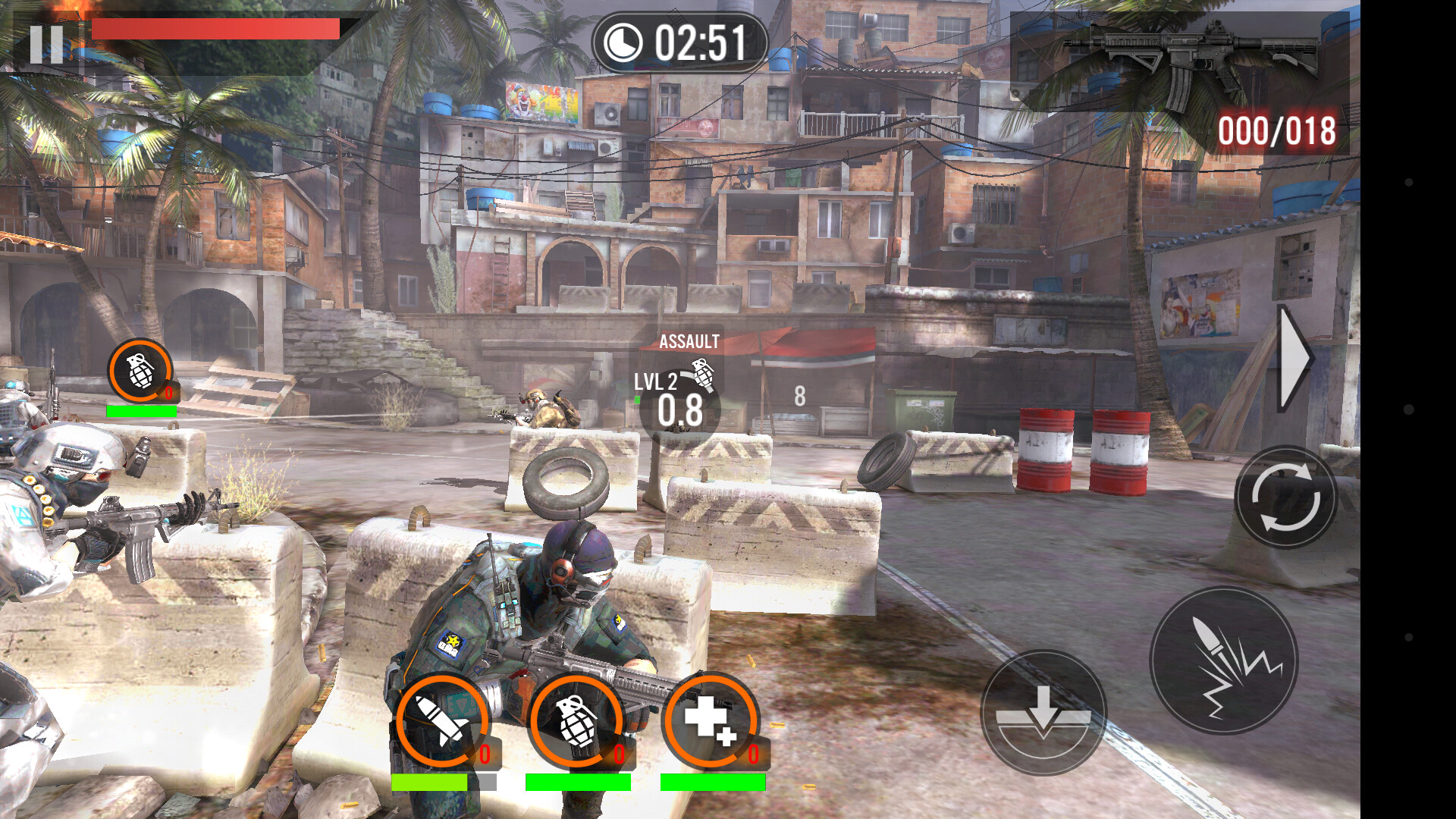 frontline commando 2 game review intense thirdperson