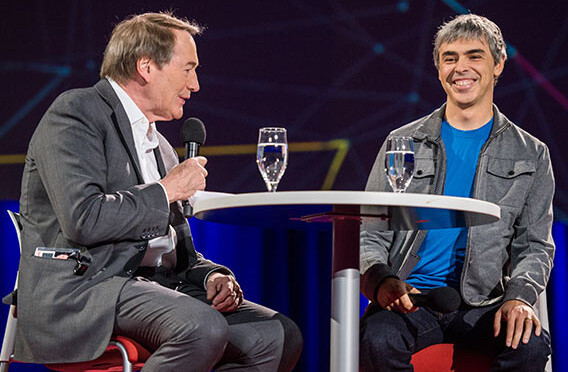 Larry Page's 'Where's Google going next' TED video interview now up online