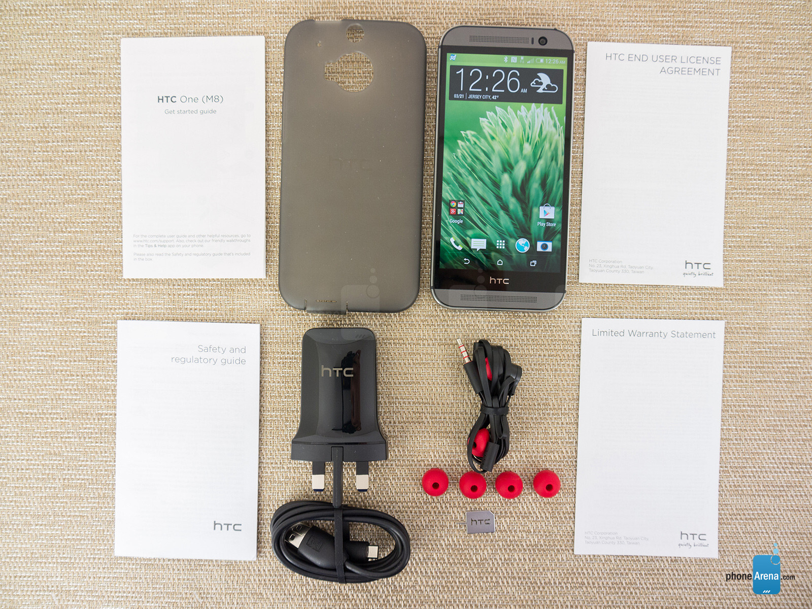 HTC One (M8) unboxing and hands-on | PhoneArena reviews