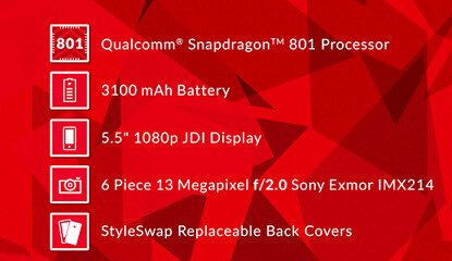 The latest specs for the OnePlus One show the Snapdragon 801 under the hood - OnePlus One will have the Snapdragon 801 under the hood after all