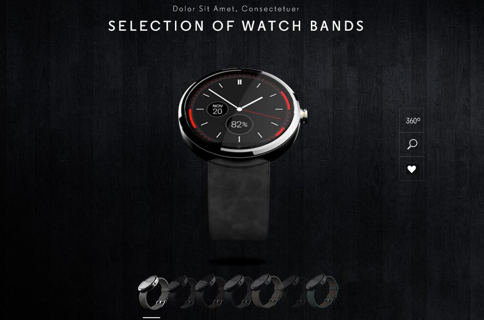 Moto 360 customization