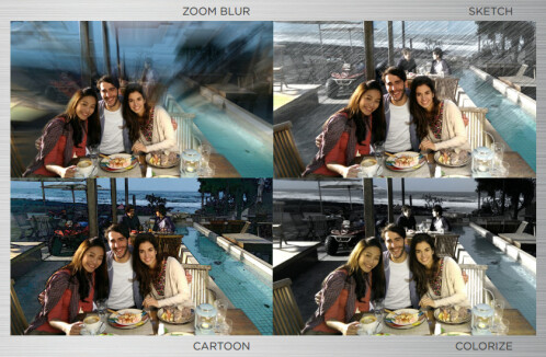 'Duo' camera effects: 'bokeh', overlays, and more