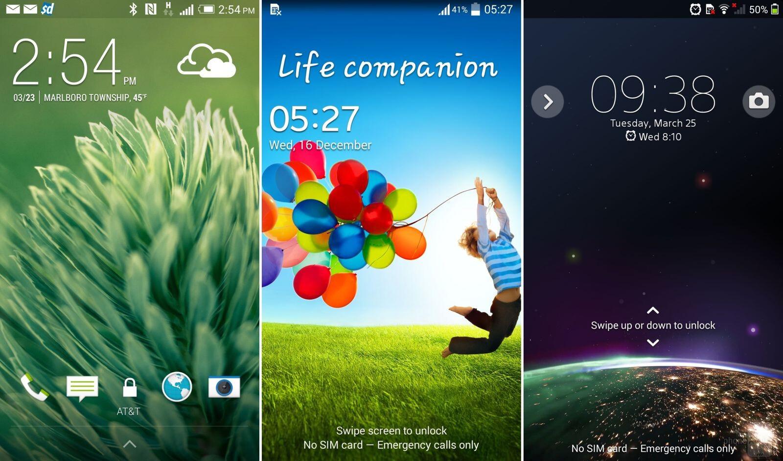 HTC Sense 6 vs Samsung TouchWiz vs Sony Xperia: UI comparison