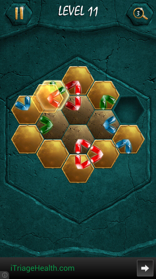 Crystalux puzzle game for Android