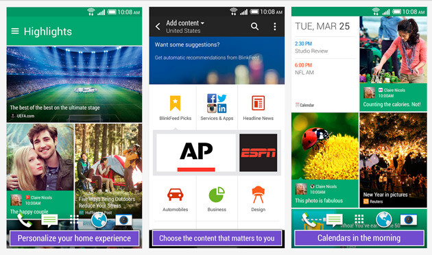 Are services like HTC BlinkFeed and Zoe the only way to compete with Apple and Samsung?