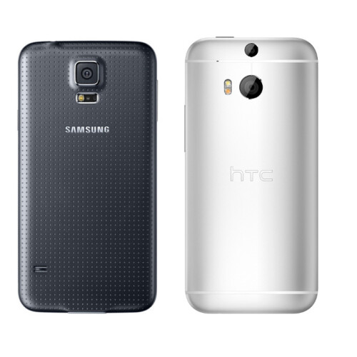 Galaxy S4 vs All New HTC One