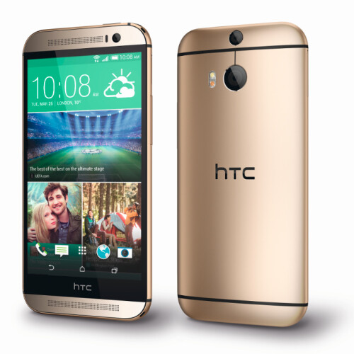 The HTC One (M8) has a 5-inch, 1080p, LCD display