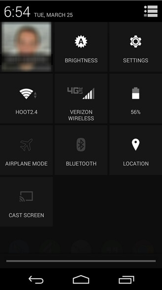 """""""Cast Screen"""" button appearing in Android Quick Settings for some users"""