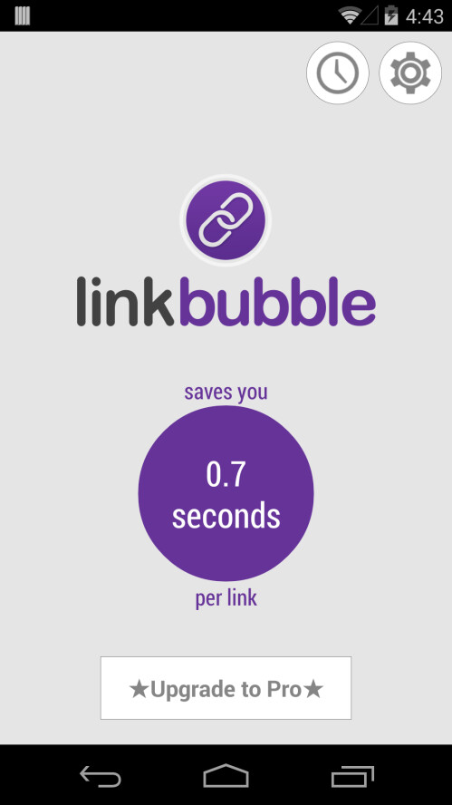 Link Bubble app review: read-it-later made easy across all Android apps