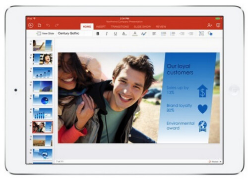 Microsoft launches Office for iPad