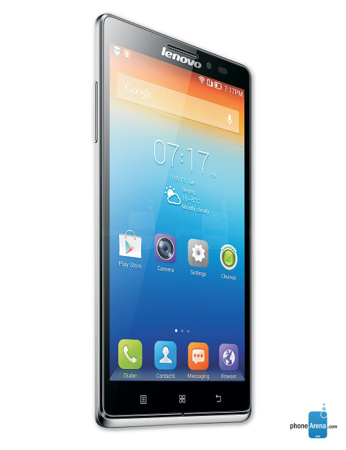 Lenovo Vibe Z, 72.67% screen-to-body ratio