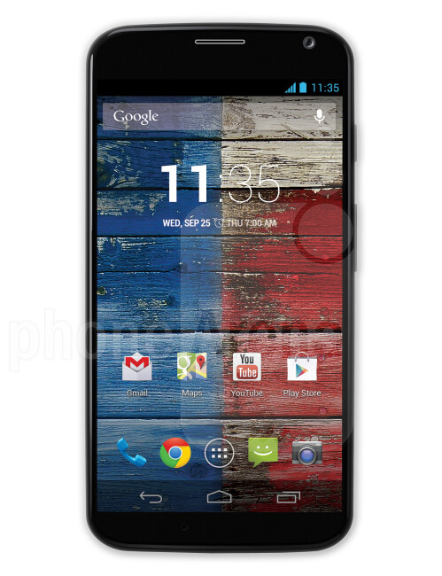 Motorola Moto X, 72.16% screen-to-body ratio