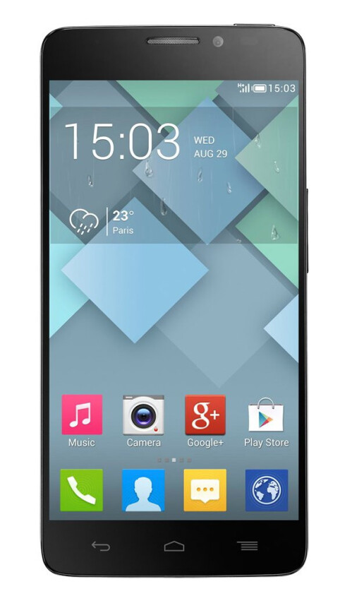 Alcatel OneTouch Idol X+, 71.02% screen-to-body ratio