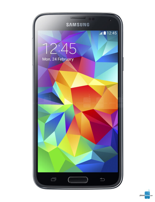 Samsung Galaxy S5, 69.76% screen-to-body ratio