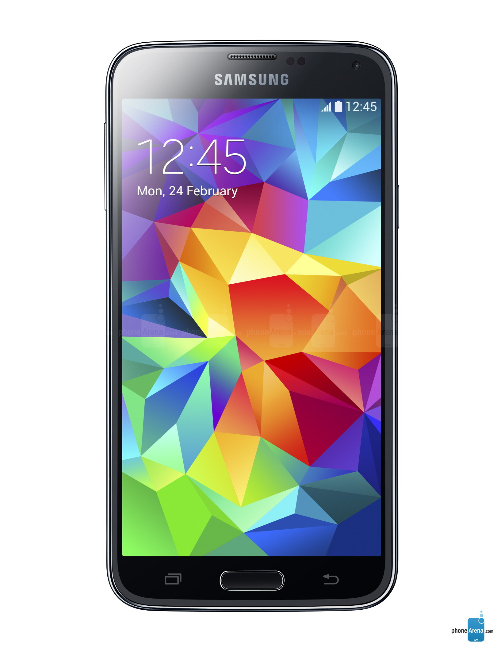 Samsung Galaxy S5, 69.76% screen-to-body ratio - image from The ...