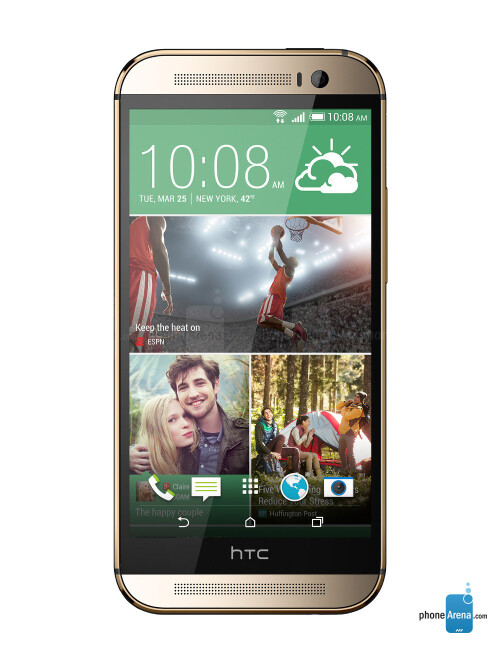 HTC One M8, 66.71% screen-to-body ratio