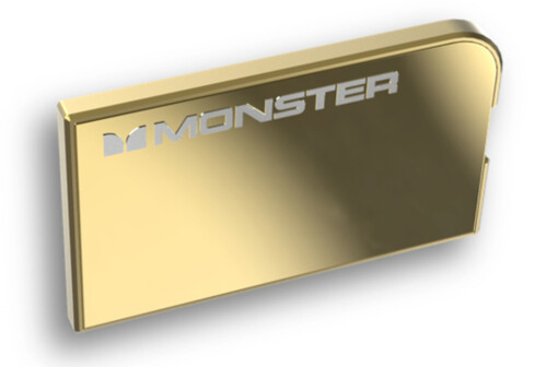 Monster's limited luxury smartphone chargers and headphones on sale at London's Harrods