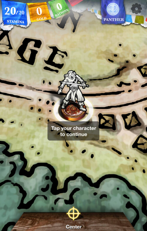 Sorcery! for Android and iOS screenshots