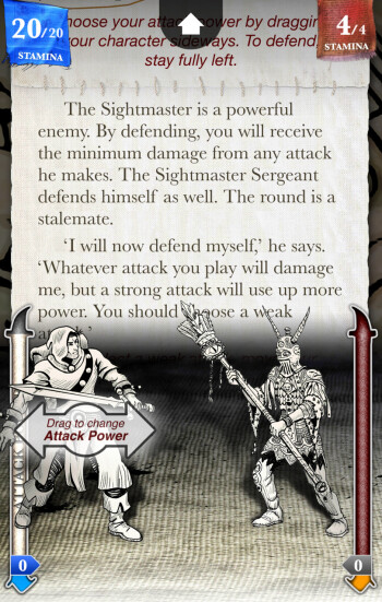 Sorcery! is a beautiful, engaging, fantasy-filled gamebook, and here's our review