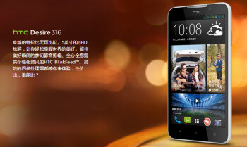 HTC Desire 316 gets official in China