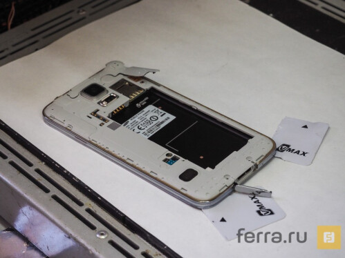 Samsung Galaxy S5 teardown suggests that the smartphone will be hard to repair