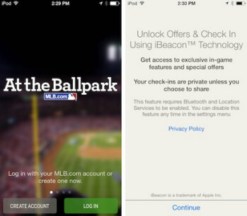 Will iBeacon add to the excitement of attending a Major League game?