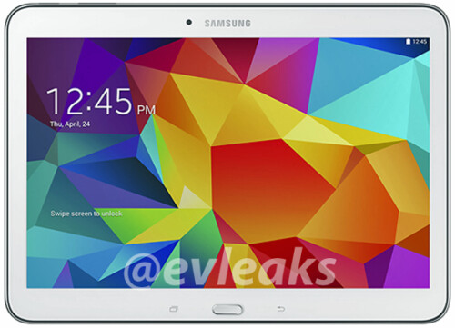 Samsung Galaxy Tab 4 10.1 in white, and black