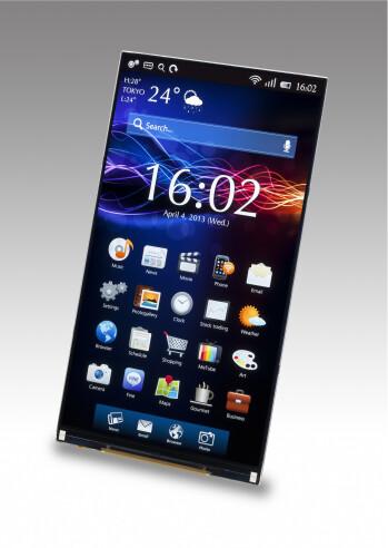 JDI's 5.5-inch Quad HD display panel
