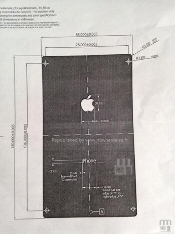 Different document shows radically different picture of the alleged next iPhone