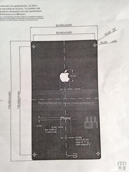Different document shows radically different picture of the alleged next iPhone - iPhone 6 schematics leak out, putting the Apple rumor season in full gear