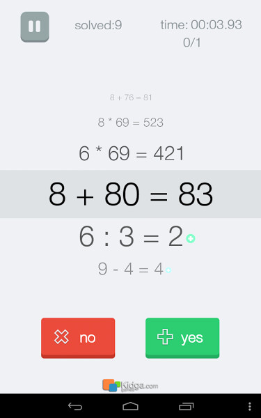 Math Effect for Android screenshots